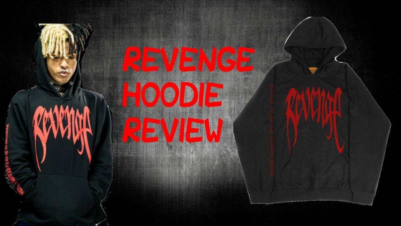 REVENGE GALLERY XXXTENTACION KILL HOODIE REVIEW