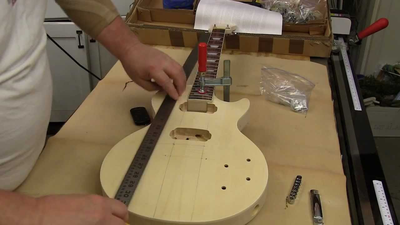 Electric guitar kit review presented newwoodworker youtube solutioingenieria Gallery