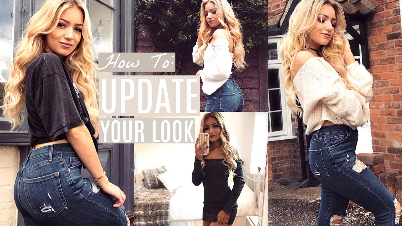 HOW TO UPDATE YOUR OVERALL LOOK! / HOW TO FIND YOUR PERSONAL STYLE