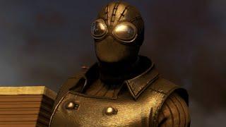 THE AMAZING SPIDER-MAN 2 VIDEOGAME - SPIDER-MAN NOIR COSTUME SHOWCASE