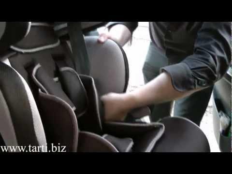Установка детского автокресла Tarti TRT-UN в автомобиль (для группы 1, 9-18 кг, 1-4 года)
