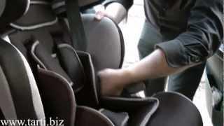 Установка детского автокресла Tarti TRT-UN в автомобиль (для группы 1, 9-18 кг, 1-4 года)(Видео установки детского автокресла Tarti TRT-UN в автомобиль (для группы 1, 9-18 кг, 1-4 года). Наш сайт: http://tarti.biz., 2012-07-17T16:52:36.000Z)