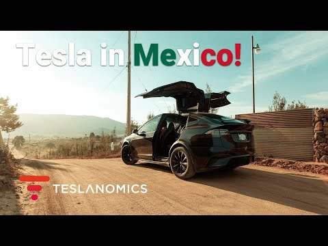 VIDEO: Driving a Tesla in Mexico, How Hard Is It?