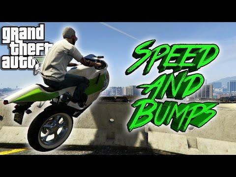 GTA V Stunt Tutorial | Ep.1 Speed And Bumps!