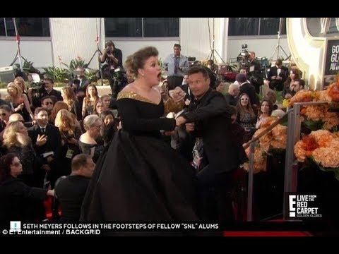 Kelly Clarkson freaks out after spotting idol Streep as wows in black gown at Golden Globe Awards