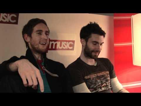 Maroon 5 interview - Adam Levine and Jesse Carmichael (part 3)