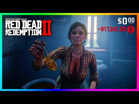 DON'T Eat The Stew From This Lady In Red Dead Redemption 2 Or Else Something TERRIBLE Will Happen!