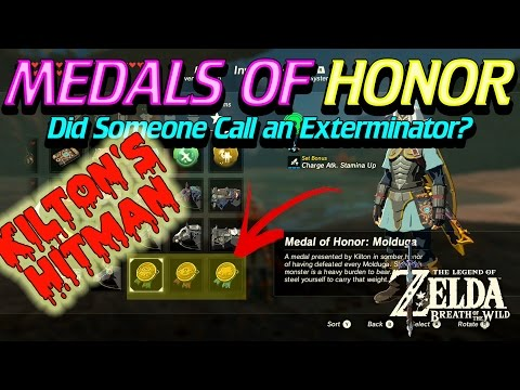 Zelda Breath of the Wild - How to get Medal of Honor
