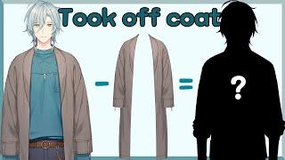 【FreeTalk】 I took off my coat