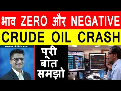 CRUDE OIL CRASH | भाव ZERO और NEGATIVE | Latest Stock Market News | Latest Share Market News Today