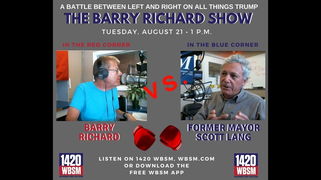 WBSM TV: Scott Lang vs  Barry Richard