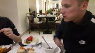 Немного видео про ужин в отеле Риф Оазис бич Резорт Египет Шарм эль Шейх 1 02 2021