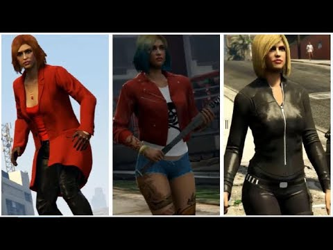 GTA: Online - DC and MARVEL Outfits (Emiko Queen, Harley Quinn, & More)