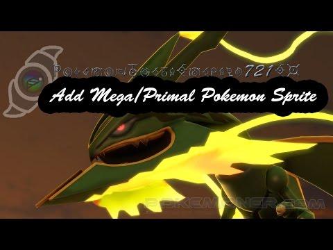 Add Mega/Primal Pokemon Sprite - Theta Emerald 721