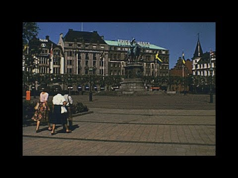 Malmo 1979 archive footage