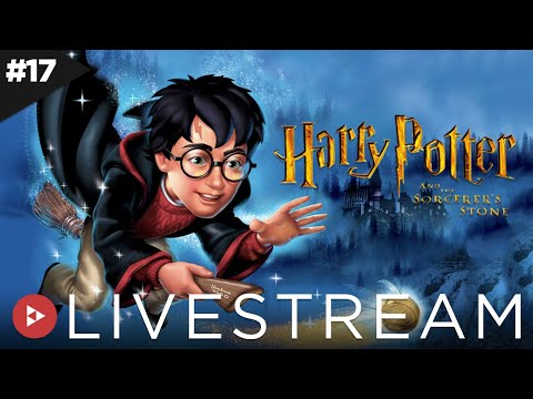 Livestream 17. Harry Potter e a Pedra Filosofal. PS2. Parte 1
