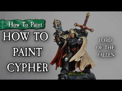 Macleods Mordant Miniatures >> How To Paint Cypher