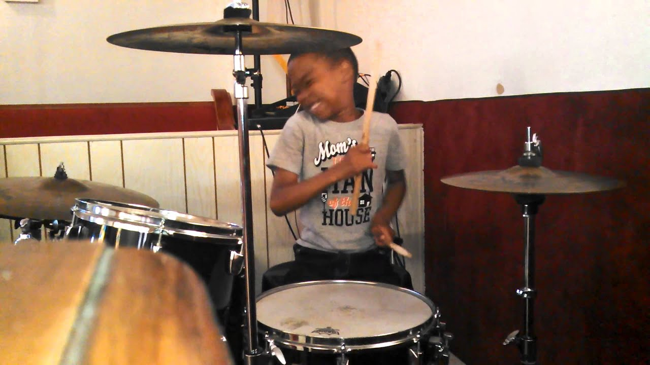 """6 YEAR OLD Plays Drums To Contemporary Gospel Song """"You"""