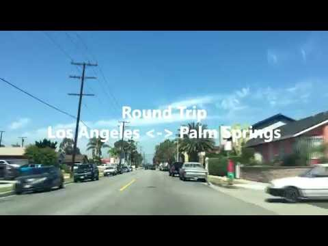 Los Angeles - Palm Springs Driving Scene 주행 감상 영상