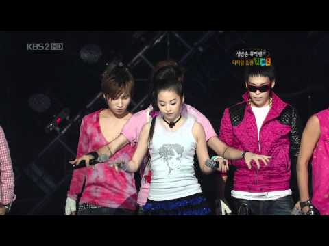 [Live] Wonder Girls & Big Bang - Tell Me& Lies [HD]
