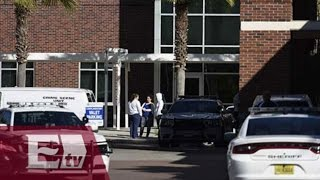 Hombre abre fuego en hospital de Florida / Yuriria Sierra
