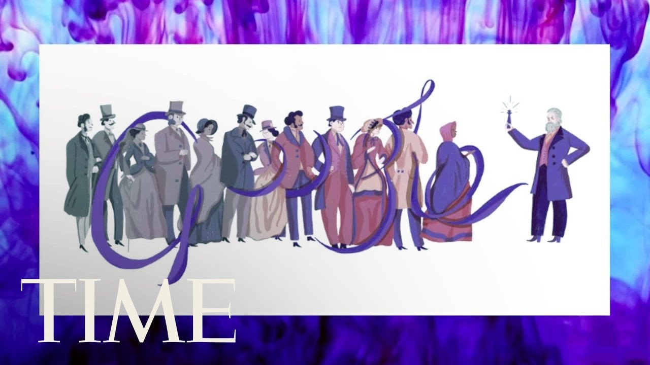 Who Was Sir William Henry Perkin? Google Celebrates The British Chemist Who Discovered Purple | TIME #1