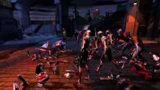 Yaiba: Ninja Gaiden Z Gameplay Trailer (March 2014) - PS3, Xbox 360, PC game