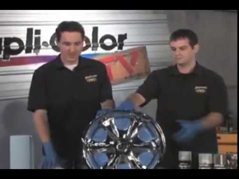 Dupli Color Shadow Chrome Black Out Coating Video