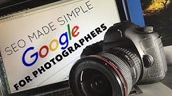 SEO made simple for Photographers