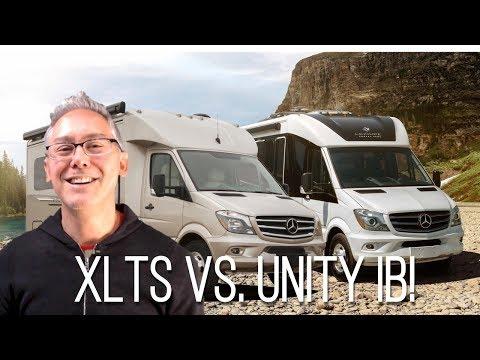 Pleasure-way Plateau XLTS vs Leisure Travel Vans Unity Island Bed | Comparison Review
