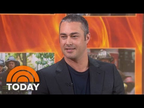 Taylor Kinney Talks 'Chicago Fire' 100th Episode, Ex-Fiancee Lady Gaga | TODAY