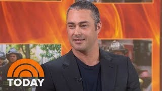 Taylor Kinney Talks 'Chicago Fire' 100th Episode, Ex-Fiancee Lady Gaga   TODAY