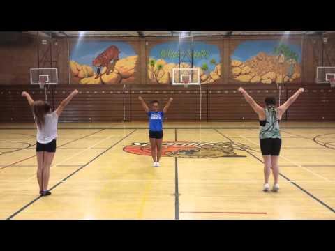 Twentynine Palms High School 2015-2016 Tryout chant 1