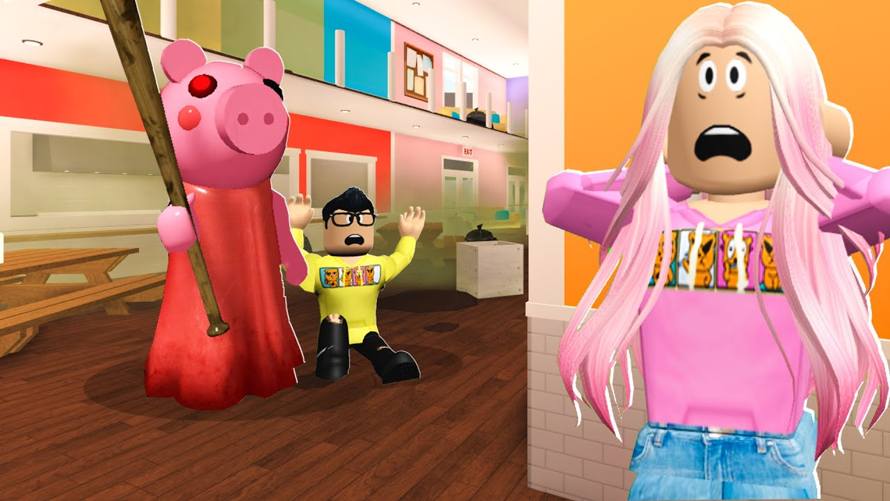 PIGGY Broke Into Baby Hyper's School.. I Had to SAVE Him! (Roblox Bloxburg)