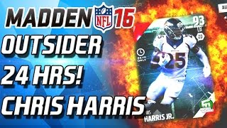 Madden 16 Ultimate Team - SHUTDOWN! 24HR CHRIS HARRIS! - MUT 16