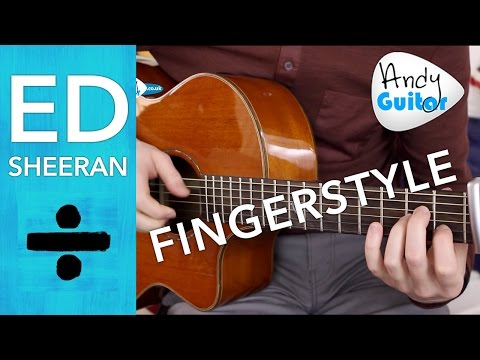 Ed Sheeran - Shape of You Guitar Lesson - EASY Chords & Fingerstyle Tutorial