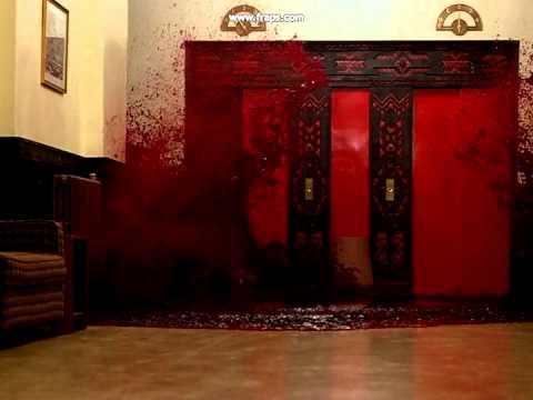 The Shining-Elevator scene