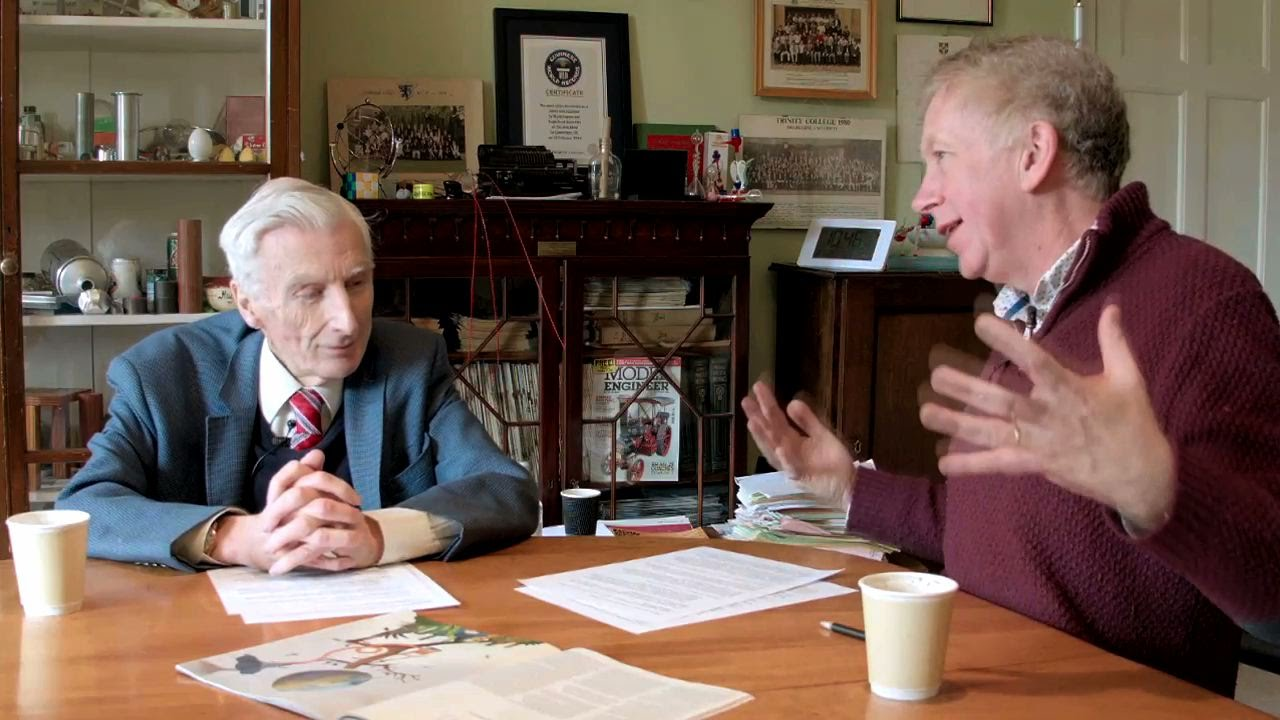 #COP21 - Lord Martin Rees & Dr. Hugh Hunt Discuss Climate ...