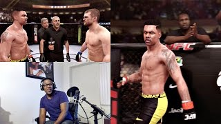 EA Sports UFC PS4 Career Mode Gameplay FACECAM - Early Finish!! Ep. 41
