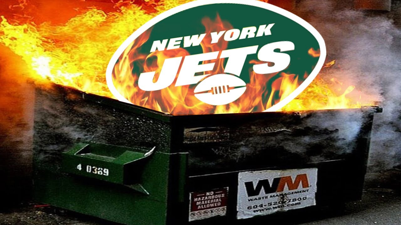 How the NY Jets Became an ABSOLUTE DUMPSTER FIRE with No End in Sight -  YouTube