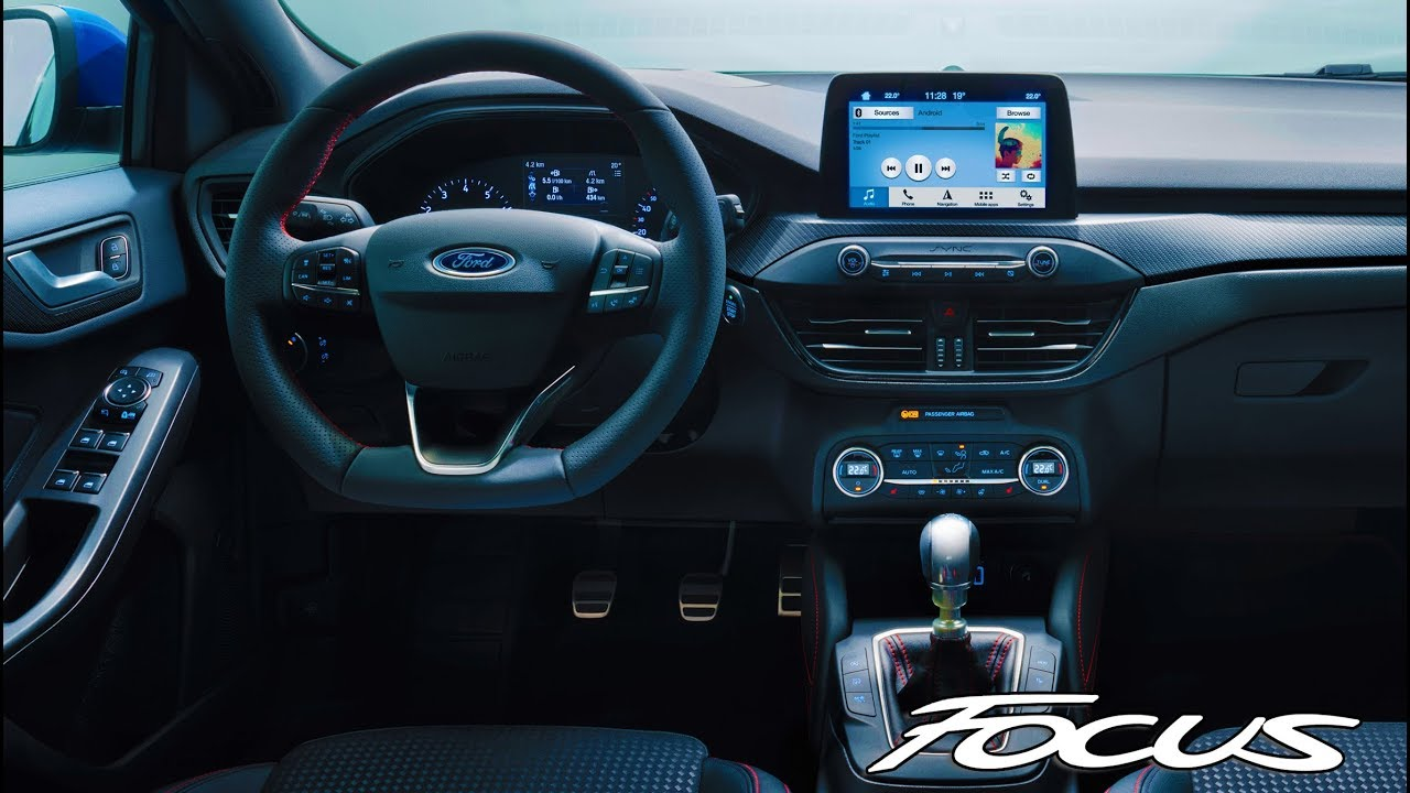 2019 Ford Focus ST-Line INTERIOR - YouTube
