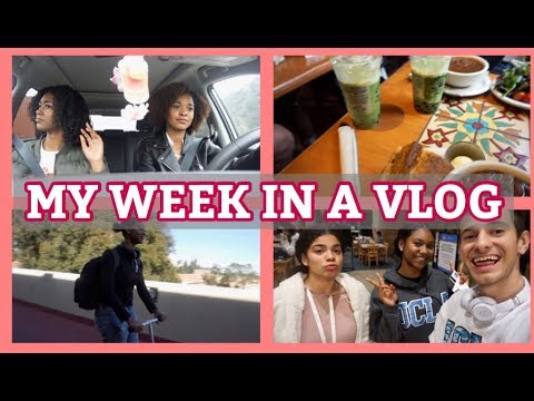 COLLEGE VLOG #9: CARPOOL KARAOKE, SHE CUT HER HAIR, FINALS ARE COMING
