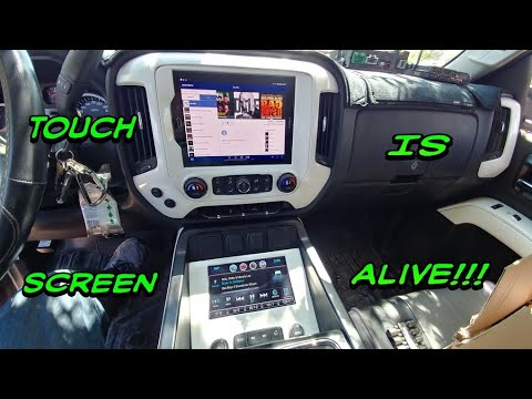 2014-2018 Silverado Touch Screen Upgrade