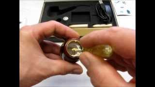 e-cigareta Elektronická dýmka PIPE 601-C od Gold Drive