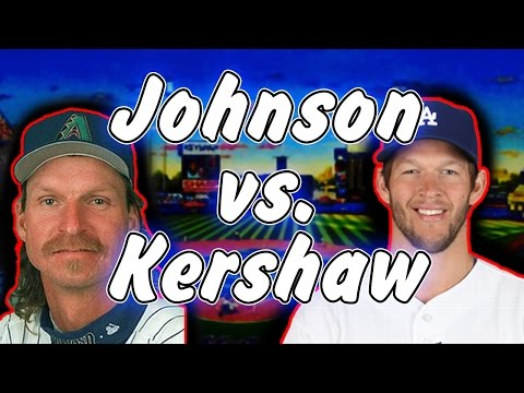 Who Is Better? Clayton Kershaw Or Randy Johnson? MLB The Show 16