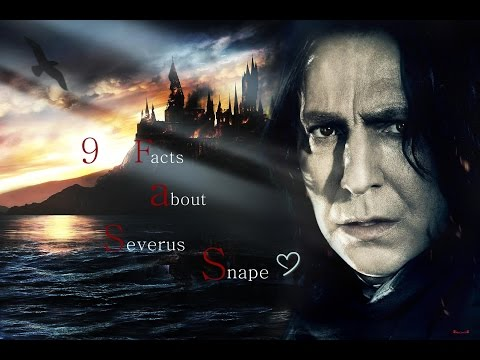 9 Facts about Severus Snape - #01