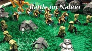 LEGO Star Wars HUGE Battle on Naboo MOC