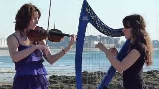 Repeat youtube video Titanic Theme Song - My Heart Will Go On - Harp / Violin