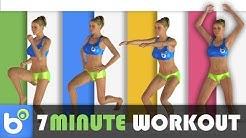 7 Minute Workout - 7 minuti di esercizi ad alta intensità per dimagrire