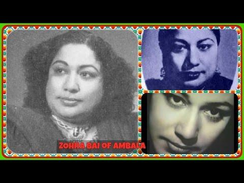 ZOHRA BAI-Film-PARAYI AAG-[1948]-Kis Se Kahen Ke Kaun Humare Chale Gaye-[First Time-Rarest Gem]